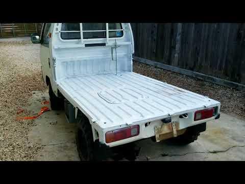 Project Acty #3 mini truck carburetor flooding, Honda Acty needle won't run