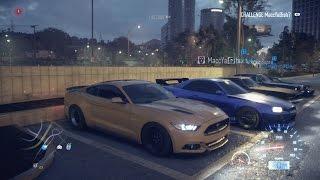 getlinkyoutube.com-NEED FOR SPEED | 800hp Street Car Meet // Turbo Mustang GT, R34 Skyline, S2000, NSX & More (Rolls)