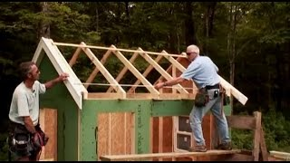 getlinkyoutube.com-How To Build A Shed: Gable Roof Trusses