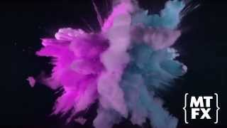 getlinkyoutube.com-Coloured Paint Explosion - Brits