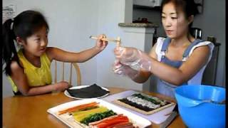 getlinkyoutube.com-Korean Food: How to Make Kimbap [LifelongEnglish.com]