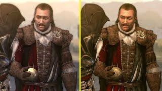 getlinkyoutube.com-Assassin's Creed Brotherhood The Ezio Collection PS4 vs PS3 Graphics Comparison