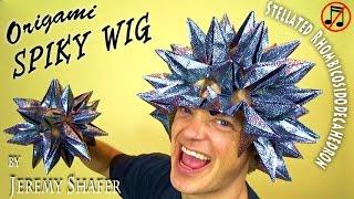 getlinkyoutube.com-Origami Spiky Wig