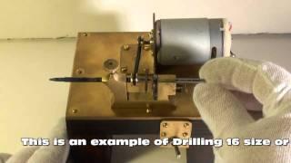 getlinkyoutube.com-Watchmakers Pivot Drilling Lathe