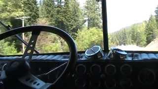 getlinkyoutube.com-12V71 Kenworth pulling Satus pass part 1