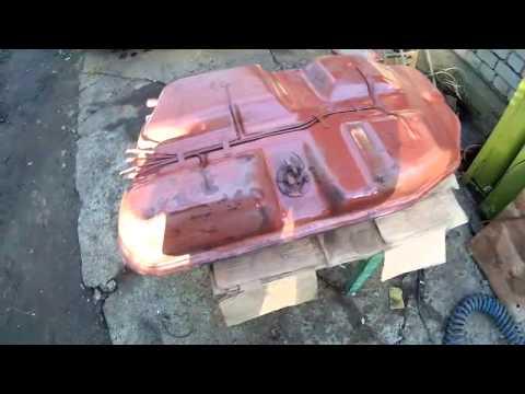Мастерская Интерактивной Реставрации: бак ВАЗ-2120 - реактивный грунт