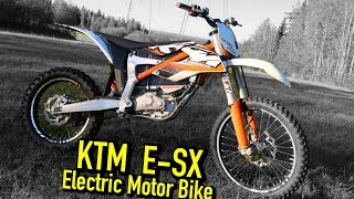 getlinkyoutube.com-KTM SX-E Freeride electric motorbike Test ride