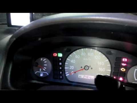Диагностика ABS и расшифровка на автомобиле NISSAN SUNNY 1999 года выпуска