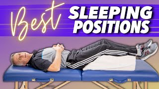 Best Sleeping Position for Back Pain, Sciatica, & Leg Pain (Great Tips)