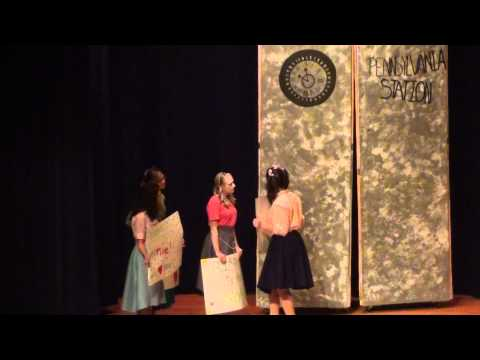 Bye Bye Birdie, TAHS Drama Club, Video 1 of 4, Auditorium, TASD, 3-24-2012, TamaquaArea.com