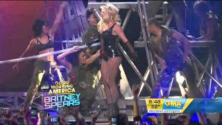 Britney Spears - Till The World Ends GMA HD 29/03/11