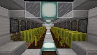 【マインクラフト】スイカ/カボチャ全自動収穫機【作り方】
