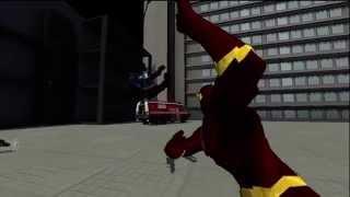 getlinkyoutube.com-The Flash Video Game: Combat Test