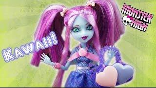 getlinkyoutube.com-Custom Monster High Kiyomi Haunterly Kawaii Face Repaint and Outfit