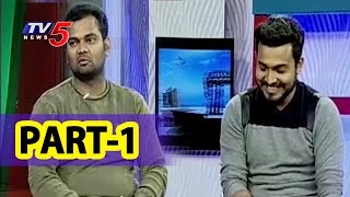 getlinkyoutube.com-Jabardasth Getup Srinu, Jabardasth Ram Prasad Funny Interview | Pravasa Bharat #1 | TV5 News