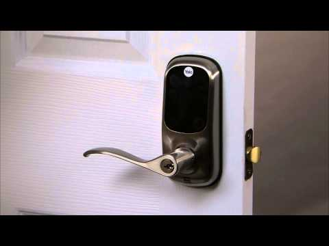 Yale Real Living Touchscreen Lever Lock Programming - All Code Lockout 09