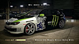 getlinkyoutube.com-Need for speed 2015-Customization Monster Impreza DC Ken Block