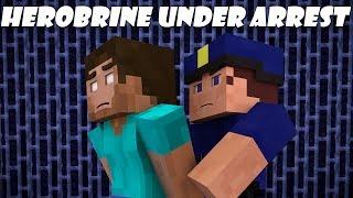 getlinkyoutube.com-If Herobrine Got Arrested - Minecraft