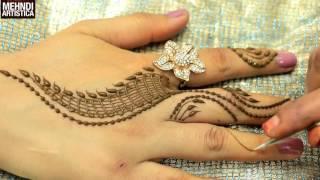 getlinkyoutube.com-Romantic Girlish Mehndi Designs Within 2 mints|Trendy Henna Mehendi Art Tattoo|MehndiArtistica