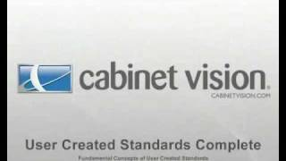 getlinkyoutube.com-Cabinet Vision eLearning Preview - User Created Standards Complete