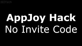 AppJoy Unlimited Nanas Hack - No Invite Code! - AppJoy Nana Glitch