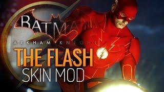 getlinkyoutube.com-Batman: Arkham Knight Mods - The Flash Mod (Skin)