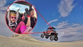 Toddler DAREDEVIL at the Sand Dunes!!
