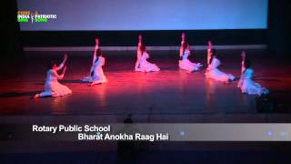"getlinkyoutube.com-Dance Performance: ""Bharat Anokha Raag Hai"" by Students of Rotary Public School, Gurgaon, Haryana"
