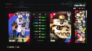 getlinkyoutube.com-Madden NFL 16 - Saints Captain Set - 90 OVR Brandin Cooks - MUT