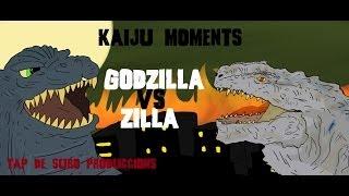 getlinkyoutube.com-Godzilla VS  Zilla, KAIJU MOMENTS # 01  Tap de Suro Produccions