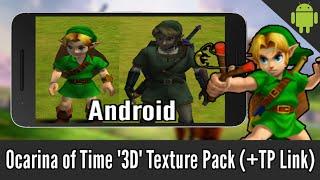 "getlinkyoutube.com-Ocarina of Time ""3D"" Texture Pack on Android (+Twilight Princess Link)"