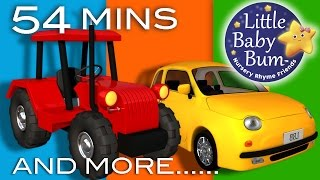 getlinkyoutube.com-Vehicle Songs! | Buses, Cars, Trains, Boats Plus Lots More Nursery Rhymes | by LittleBabyBum!
