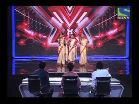 Sajda Sisters' lovely performance on Dola Re Dola - X Factor India - Episode 4 -  1st June 2011