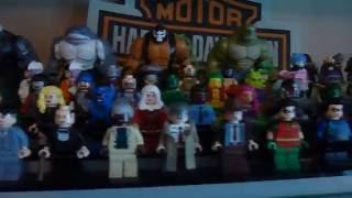 getlinkyoutube.com-Lego DC Minifigure Collection Update (Batman, Justice League, Suicide Squad, etc.)