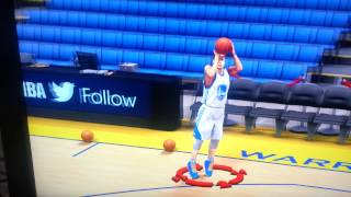 NBA 2K15 Stephen Curry True Jumpshot.