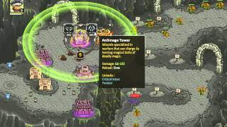 getlinkyoutube.com-Kingdom Rush Frontiers - Casual - LEVEL 12 - 3 STARS