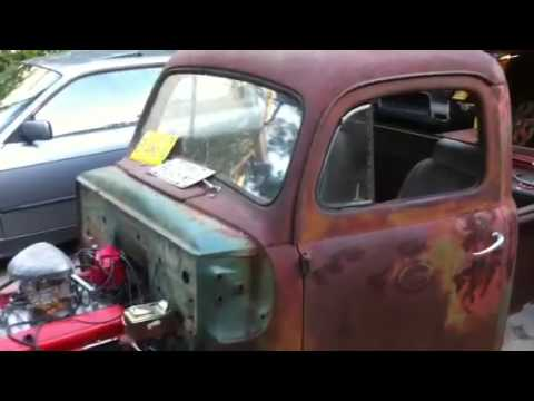 Homemade 52 ford rat rod