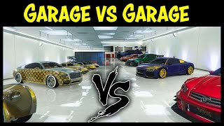 getlinkyoutube.com-GTA 5 Online GARAGE vs GARAGE EP. 16 GOLD EDITION! (Best Cars Competition)