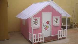 getlinkyoutube.com-Casinha de boneca madeira da Animamix