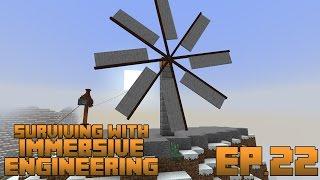 getlinkyoutube.com-Surviving With Immersive Engineering :: Ep.22 - Windmill Power Generation And Engineer's Skyhook