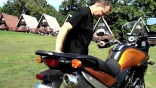 getlinkyoutube.com-Suzuki V- strom 650 ABS 2012 (PL) Test