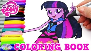 getlinkyoutube.com-My Little Pony Coloring Book MLP EG Twilight Sparkle Episode Surprise Egg and Toy Collector SETC