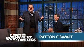 Patton Oswalt's Worst Bombing Story - Late Night with Seth Meyers