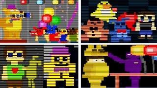 getlinkyoutube.com-Five Nights at Freddy's 4 ALL MINIGAMES