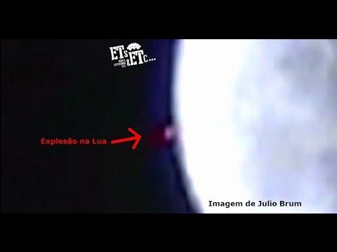 Explosões na Lua - imagens de cinegrafista amador