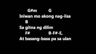 CUESHE - ULAN lyrics w/ guitar chords