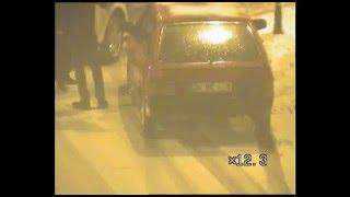 Erzincan'daki kazalar mobese kameralarında