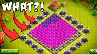getlinkyoutube.com-Clash of Clans | CRAZY Anti-Dark ELIXIR CUBE BASE! | Trolling TH8 Build+REPLAYS!