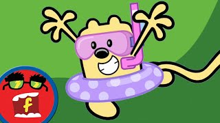 getlinkyoutube.com-Time For Fun | Fredbot Cartoons For Kids (Wow! Wow! Wubbzy!)