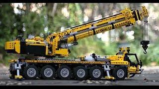 getlinkyoutube.com-Ultimate 42009 XXL LEGO Technic MOC Big Crane